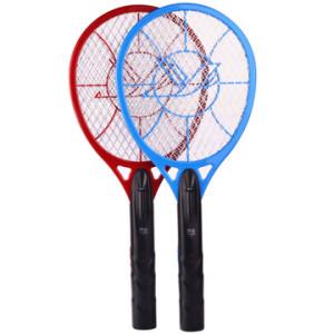 雅格 YG-5621电蚊拍充电式家用强力灭蚊大网面led灯多功能蚊子拍电苍蝇拍 多款可选