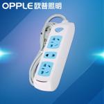 OPPLE 欧普 三位插排插线板 电源插座接线板 1.8m