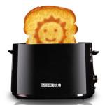 BUYDEEM北鼎 D504全自动多士炉 笑脸烤面包机