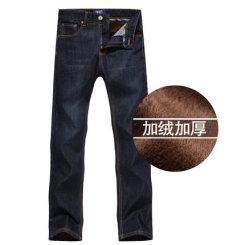 NEWMANHILL纽曼希尔 秋冬款男装加绒加厚牛仔裤 男士直筒中腰牛仔长裤子 9色可选