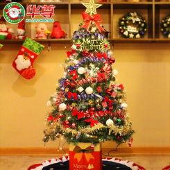 华尊 圣诞装饰品 1.5米圣诞树套餐 150cm豪华加密圣诞节装饰圣诞树