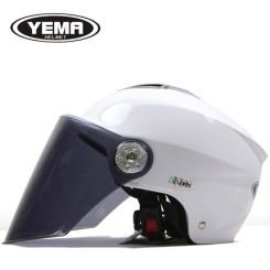 野马 男女摩托车电动车头盔 夏季防晒防紫外线安全帽半盔
