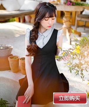 《致青春2》刘亦菲学生装造型清纯可爱