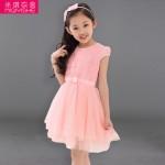米琪衣舍 2015夏装童装女童连衣裙夏季新款短袖韩版公主裙儿童女孩裙子纱裙