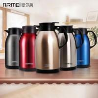 nRMEi恩尔美 保温壶 家用保温瓶304不锈钢大容量水瓶杯欧式热水暖壶水壶2L