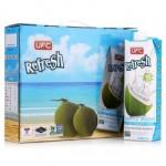 泰国进口 UFC牌100%纯椰子水 1L*4