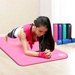 弥雅 瑜伽垫 健身垫  瑜珈垫子 加厚加宽加长运动垫 地垫 2款多色可选