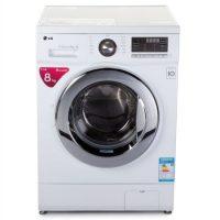 LG WD-T14410DL 8公斤直驱DD变频滚筒 静心系列洗衣机 智能手洗模式(白色)