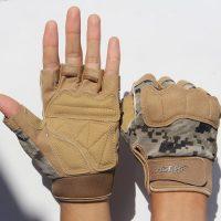 誉赫 半指手套男女运动户外登山防滑骑行露指战术格斗健身器械手套 多款可选