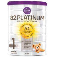 a2 澳大利亚白金婴儿奶粉1段900g罐装 适合0-6个月宝宝