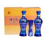 洋河 蓝色经典 52度海之蓝酒480ml*6瓶 整箱装 白酒礼盒