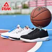 Peak匹克 男鞋低帮篮球鞋秋季透气减震运动鞋男子防滑耐磨实地战靴E31091A 三色可选
