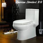 American Standard美标卫浴 CP-1858 喷射虹吸式抽水马桶 全包连体坐便器 双档节水马桶