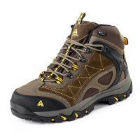 悍途 登山鞋男女冬季高帮防水情侣徒步鞋防滑加绒保暖棉鞋户外鞋 多款可选