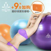 峰燕 FY015加厚瑜伽球防爆健身球瑜珈球孕妇减肥球愈加球瘦身无味 55cm