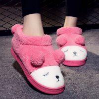 小棉羊 棉拖鞋男女包跟情侣亲子可爱毛毛鞋居家保暖加厚底月子秋冬季防滑 多款可选