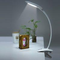 迪士尼 护眼LED台灯 夹子USB充电折叠阅读灯