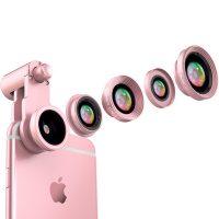 凡亚比 手机镜头广角微距鱼眼三合一套装iphone6s通用拍照相外置摄像单反FYB-185