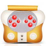 MZ茗振 MZ-158D6 颈椎按摩器颈部腰部背部肩部按摩枕家用腰椎仪多功能全身靠垫