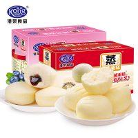Kong WENG港荣 蒸蛋糕点心早餐零食品批发美食小吃手撕全麦面包 整箱1kg