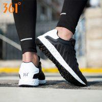 361°361度 男鞋2017年夏季新款跑步鞋运动鞋 男透气网面复古休闲鞋