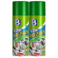 Botny保赐利 B-1810 除胶剂汽车用品黏粘胶去除3M不干胶清除家用玻璃清洁柏油沥青清洗 450ML+赠品