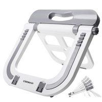 Cooskin酷奇 DA001-1 笔记本电脑桌面支架升降折叠托架垫高苹果散热器增高架子颈椎
