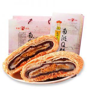 MEILIJIA美丽家 南湖Q饼台湾特色糕点点心零食特产小吃美食酥饼食品伴手礼 400g(5枚)
