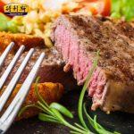 得利斯 澳洲儿童牛排家庭套餐 原味牛排优质牛扒生牛肉 120g*10片