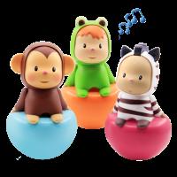 法国Smoby智比 211311-30婴儿不倒翁玩具 宝宝6-7-12个月早教益智大号0-1岁儿童