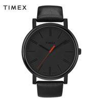 美国TIMEX天美时 男士手表简约时尚潮流夜光石英皮带男表T2N794