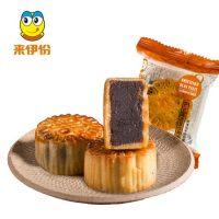 来伊份 豆沙月饼散装广式月饼老式中秋月饼团购 200g/袋 *2件
