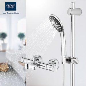 GROHE高仪 34337+27333 德国进口智能恒温龙头花洒套装卫生间淋浴按摩喷头