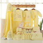 推推口袋 心系列高档礼盒 婴儿衣服夏季新生儿礼盒套装纯棉0-3-6个月宝宝满月母婴用品大全