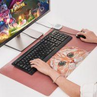畅志U品 暖桌垫 电脑暖手桌面发热板办公室鼠标超大加热保暖桌垫毯电热写字暖桌宝
