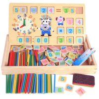 达拉 DL-3456 数数棒儿童算数棒算术棒幼儿园学数学教具学具盒益智玩具