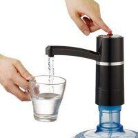 美能迪 桶装水抽水器电动无线充电压水器矿泉吸水上水器自动饮水机
