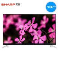 Sharp夏普 LCD-70SU665A 70英寸高清网络智能液晶4k平板电视机