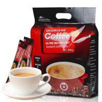 SAGOcoffee西贡咖啡 越南进口 三合一速溶咖啡900克原味即溶咖啡粉50条袋装