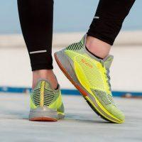 361°361度 夏季智能跑鞋女男鞋情侣飞织跑步鞋轻便减震透气运动鞋 多色可选