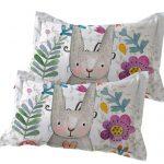 麻造 新品可爱枕头套学生枕头套单人通用枕芯套情侣成人枕套 一对2只装48*74cm 多款可选