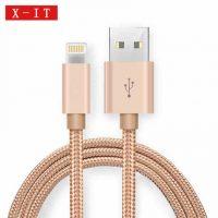 X-IT iPhone6数据线6s苹果8p加长5s手机6Plus充电线器7p七六五ipad4短