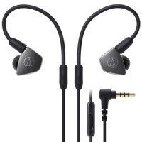 Audio Technica铁三角 ATH-LS70iS 双动圈手机带线控入耳式耳机