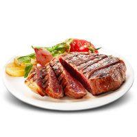 赤豪 澳洲生鲜家庭牛排100g*13片套餐团购新鲜肉菲力黑椒刀叉