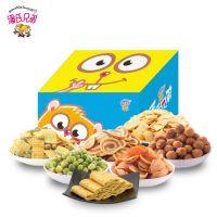潘氏兄弟 零食大礼包送女友生日礼物整箱超大组合吃货小吃1100g