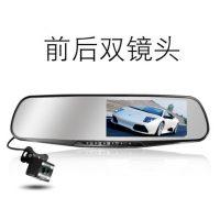 正际 C1 新款汽车行车记录仪双镜头电子狗测速高清夜视全景倒车影像一体机